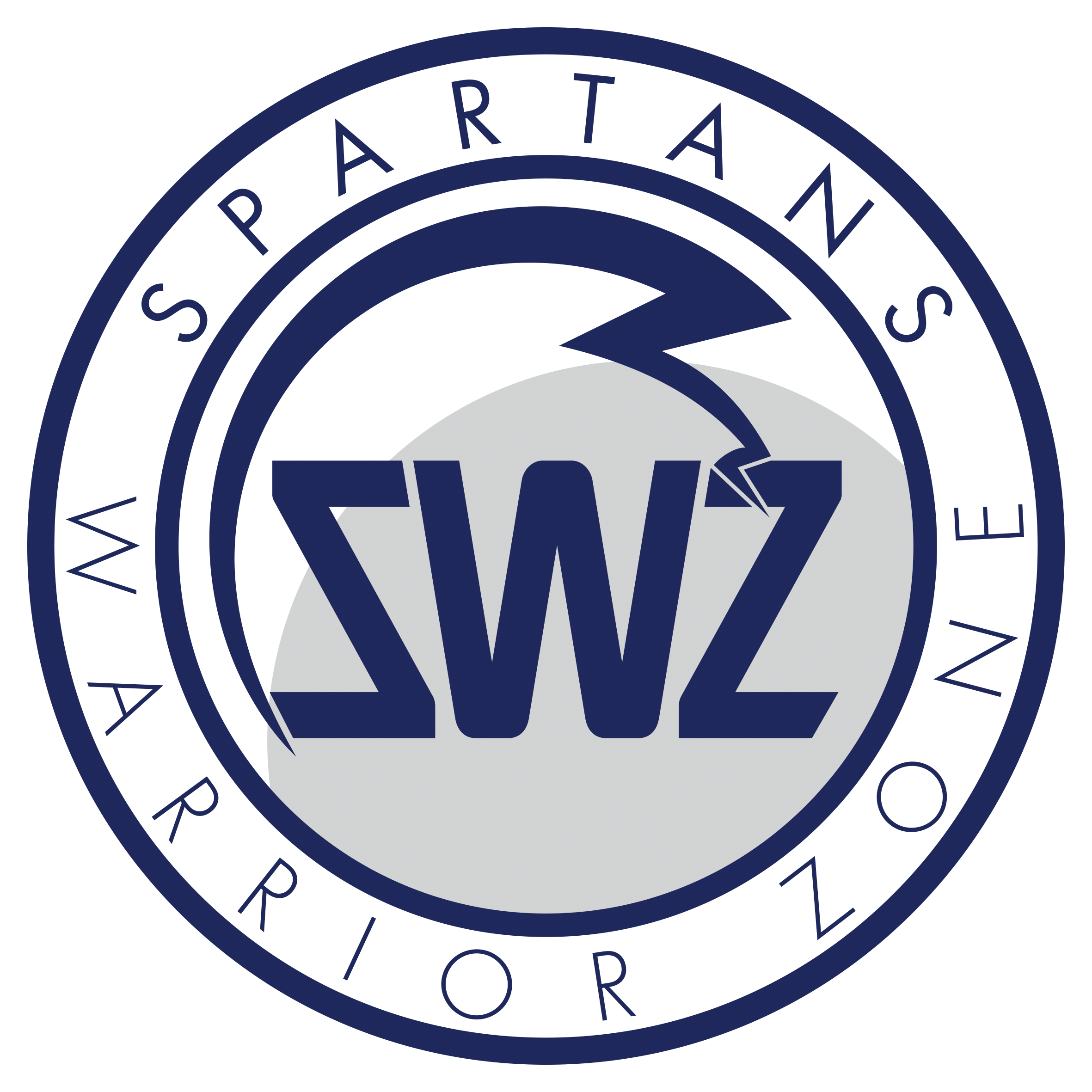 Spartans warrior Zone logo